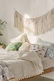 urban outfitters wall decor maryam macrame fringe banner dorm bedrooms and room
