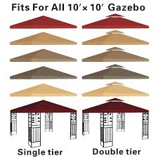 Patio Gazebo Replacement Covers by