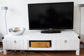 ikea lack hack a high end look on a dime designer trapped ikea hack tv stand makeover hometalk