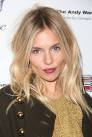 whatbhair texture does sienna miller have blonde hairstyles for just about every tone of blonde out there