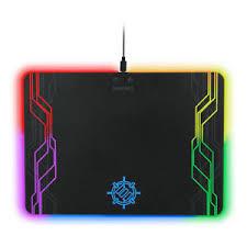 light up gaming mouse pad enhance large hard surface led gaming mouse pad 7 rgb light up