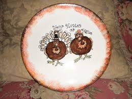 ceramic turkey platter 95 best thanksgiving images on pottery ideas