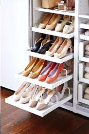 shoe cabinet storage ideas lingerieslide out shelves for linen