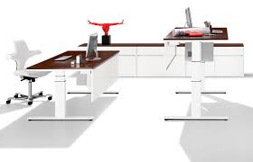 Height Of Office Desk Picture Of Height Adjustable Desk Office Home Design Ideas