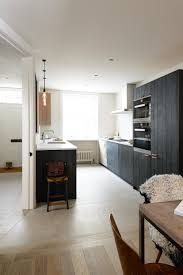 Rustic Birch Kitchen Cabinets Kitchen Of The Week A Rustic Luxe London Galley By Devol