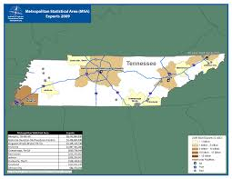 Chattanooga Tennessee Map by Itts Tennessee State Profile
