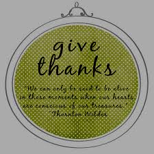sentiments by thanksgiving thought