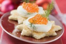 canap au saumon canapés de saumon fumé au caviar