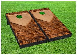 home plate get it to home plate baseball boards beanbag toss game w