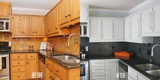cuisine avant apr鑚 étourdissant renovation cuisine bois avant apres et faa ons