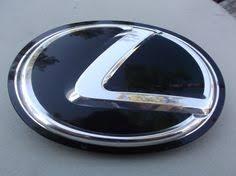 lexus emblem lexus black size 15 cm emblem auto car accessories by chrome 3d
