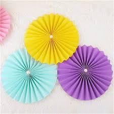 paper fans for wedding 2017 multi color paper fan decorations multi colors 20cm 30cm 40cm