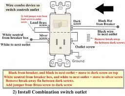 outlet combo wiring wiring diagrams schematics
