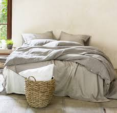 queen bed makeover rough linen bedding 100 linen
