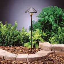 Kichler Outdoor Led Lighting by Center Mount 3000k Led Path Light In Azt