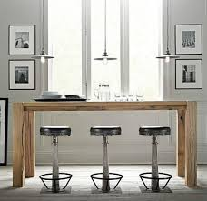 Kitchen Bar Designs by Swedish Kitchen With Light Wood Breakfast Bar Table And Black