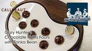 chocolate petits fours with tonka bean recipes and chocolate ideas