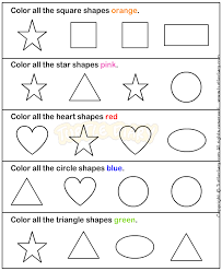 shapes2 math worksheets preschool worksheets geometry