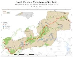 Sparta On Map Future Plans Mountains To Sea Trail