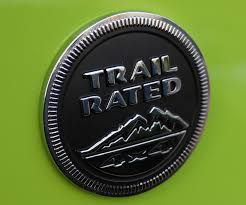 mopar jeep logo jeep trail rated 4x4 badge emblem mopar oem yj cj jk tj wrangler