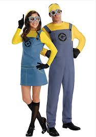 halloween costumes minion top couples costumes 2015 pop culture influenced couples costumes