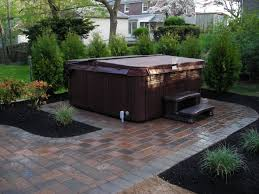 Backyard Paver Patio Ideas by Paver Driveway Walkway And Patio Ideas Tub Ideas