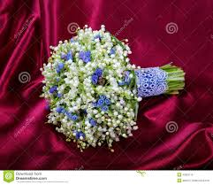 of the valley bouquet wedding bouquet from lilies of the valley stock photo image