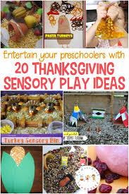 20 of the best thanksgiving sensory activities for preschoolers