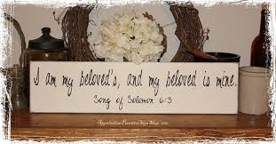 i am my beloved s and my beloved is mine ring i am my beloveds and my beloved is mine song of solomon 6 3 wood