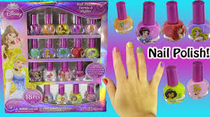 disney princess peel off nail polish belle cinderella u0026 more