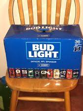how much is a 36 pack of bud light 2017 bud light nfl kickoff limited edition 36 pack team cans beer