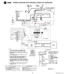 trane heat pump wiring and air handler diagram gooddy org