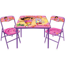 Dora The Explorer Bedroom Furniture by Dora The Explorer Activity Table And Chair Set 10th Anniversary