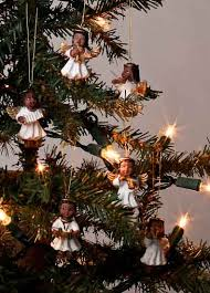 miniature african american angel ornaments christmas ornaments