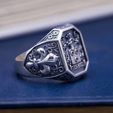 custom metal rings images Custom signet rings family crest rings coat of arms rings jpg