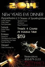 New Year S Eve Dinner Ideas New Years Eve Dinner Menu