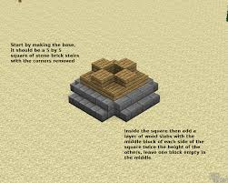 Stone Stairs Minecraft by How To Build A Small Crane Minecraft Blog