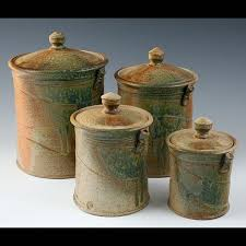 Design For Kitchen Canisters Ceramic Ideas 8 Best Canister Set Images On Pinterest Canister Sets Pottery