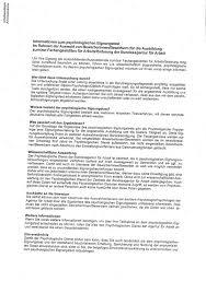 Bewerbungsschreiben Ausbildung Jobcenter psychologisches auswahlverfahren bei der agentur f禺r arbeit