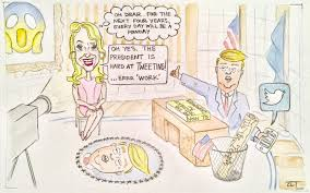 cartoon mondays in the oval office the collegiate live