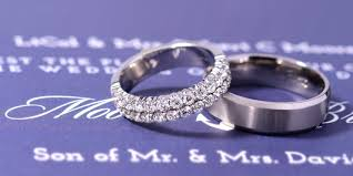 cost of wedding bands how much do wedding bands cost compared to engagement rings