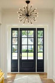 the power of paint dark painted interior french doors painting