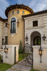 Spanish Mediterranean Homes Eclectic Old World Home In Austin Texas Built By Sendero Homes