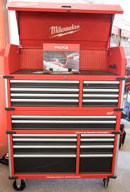 home depot black friday sales 2017 metal storage cabinet tall vertical new milwaukee premium 46 u2033 tool storage combo is bigger u0026 better