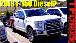 is this the 2018 ford f 150 diesel tow testing spied in the wild