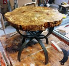 live edge round table hand crafted live edge round table by uncommon woodworks