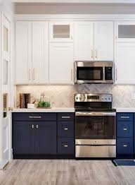 two tone kitchen cabinets white and grey 6 two toned kitchen cabinets the combo you should try for