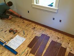 Nail Down Laminate Flooring The Micro Dwelling Project Part 5 Flooring The Daring Gourmet