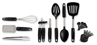 Kitchen Tools And Gadgets by Amazon Com Gibson Home 92102 18 Chefs Better Basics 18 Piece