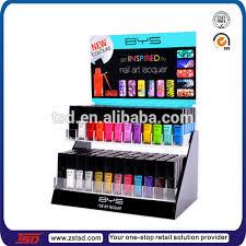tsd a556 custom cosmetic shop acrylic opi nail polish display rack